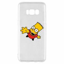 Чехол для Samsung S8 Барт Симпсон