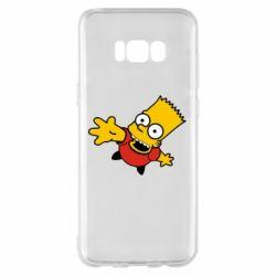 Чехол для Samsung S8+ Барт Симпсон