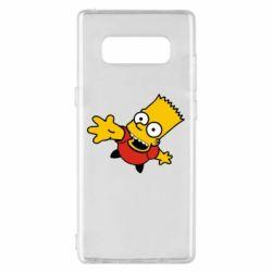 Чехол для Samsung Note 8 Барт Симпсон