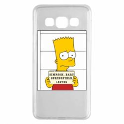 Чехол для Samsung A3 2015 Барт в тюряге