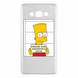 Чехол для Samsung A7 2015 Барт в тюряге - FatLine