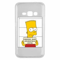 Чехол для Samsung J1 2016 Барт в тюряге - FatLine