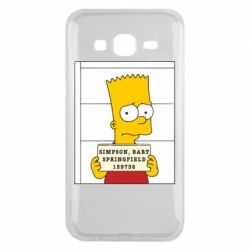 Чехол для Samsung J5 2015 Барт в тюряге - FatLine