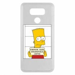 Чехол для LG G6 Барт в тюряге - FatLine