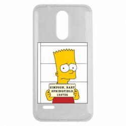 Чехол для LG K7 2017 Барт в тюряге - FatLine