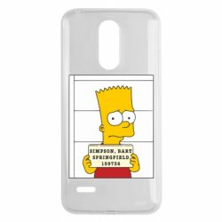 Чехол для LG K8 2017 Барт в тюряге - FatLine