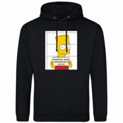 Мужская толстовка Барт в тюряге - FatLine