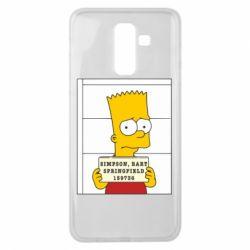 Чехол для Samsung J8 2018 Барт в тюряге