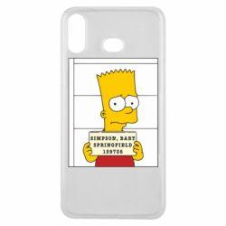 Чехол для Samsung A6s Барт в тюряге - FatLine