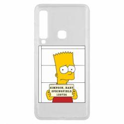 Чехол для Samsung A9 2018 Барт в тюряге - FatLine