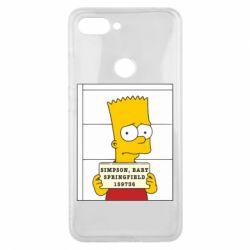 Чехол для Xiaomi Mi8 Lite Барт в тюряге - FatLine