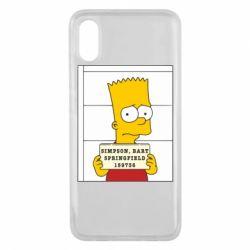 Чехол для Xiaomi Mi8 Pro Барт в тюряге - FatLine