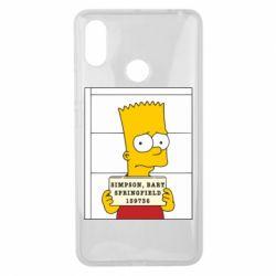 Чехол для Xiaomi Mi Max 3 Барт в тюряге - FatLine