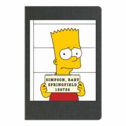 Блокнот А5 Барт в тюряге - FatLine