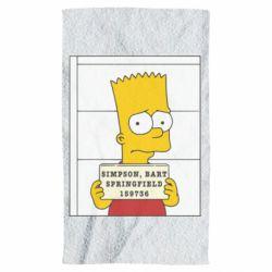 Полотенце Барт в тюряге - FatLine