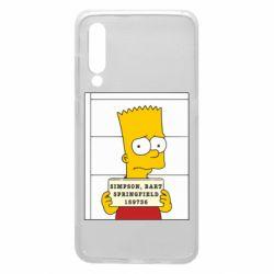 Чехол для Xiaomi Mi9 Барт в тюряге
