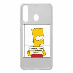 Чехол для Samsung A60 Барт в тюряге