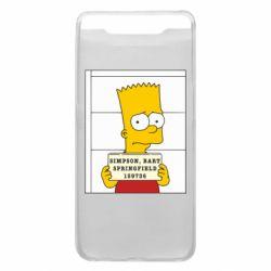 Чехол для Samsung A80 Барт в тюряге