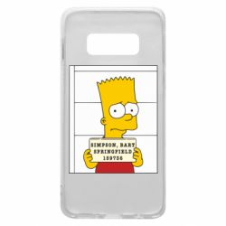 Чехол для Samsung S10e Барт в тюряге