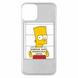 Чехол для iPhone 11 Барт в тюряге