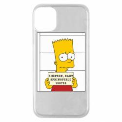 Чехол для iPhone 11 Pro Барт в тюряге