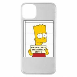 Чехол для iPhone 11 Pro Max Барт в тюряге