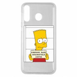 Чехол для Samsung M30 Барт в тюряге