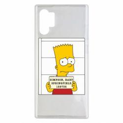 Чехол для Samsung Note 10 Plus Барт в тюряге