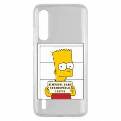 Чехол для Xiaomi Mi9 Lite Барт в тюряге