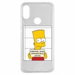 Чехол для Xiaomi Redmi Note 7 Барт в тюряге