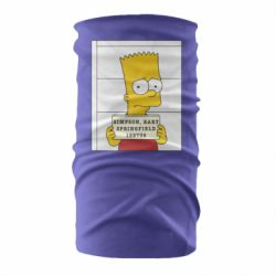 Бандана-труба Барт в тюряге
