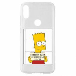 Чехол для Xiaomi Mi Play Барт в тюряге