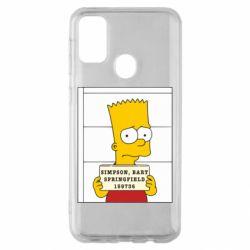 Чехол для Samsung M30s Барт в тюряге