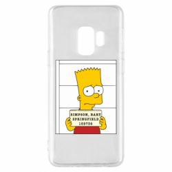 Чехол для Samsung S9 Барт в тюряге - FatLine