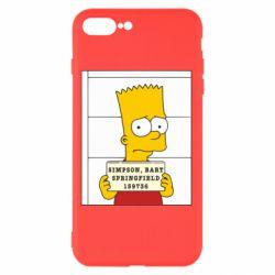Чехол для iPhone 8 Plus Барт в тюряге - FatLine