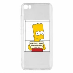 Чехол для Xiaomi Mi5/Mi5 Pro Барт в тюряге