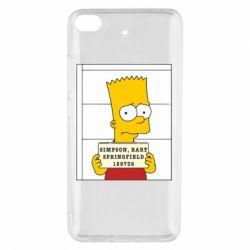Чехол для Xiaomi Mi 5s Барт в тюряге - FatLine