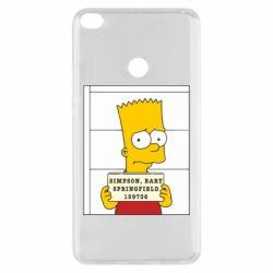 Чехол для Xiaomi Mi Max 2 Барт в тюряге - FatLine