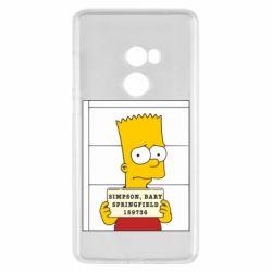 Чехол для Xiaomi Mi Mix 2 Барт в тюряге - FatLine