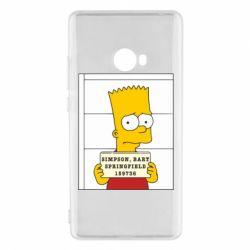 Чехол для Xiaomi Mi Note 2 Барт в тюряге - FatLine