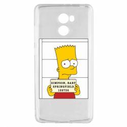Чехол для Xiaomi Redmi 4 Барт в тюряге - FatLine