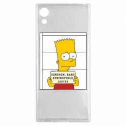 Чехол для Sony Xperia XA1 Барт в тюряге - FatLine