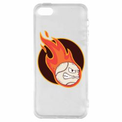 Чехол для iPhone5/5S/SE Baseball fireball