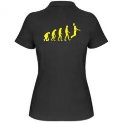 Женская футболка поло Basketball Evolution - FatLine