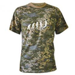 Камуфляжная футболка Basketball Evolution - FatLine