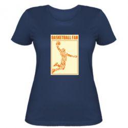 Жіноча футболка Basketball fan