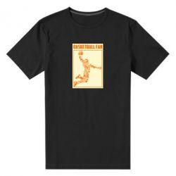 Чоловіча стрейчева футболка Basketball fan