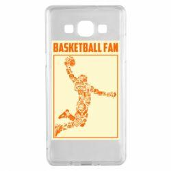 Чохол для Samsung A5 2015 Basketball fan