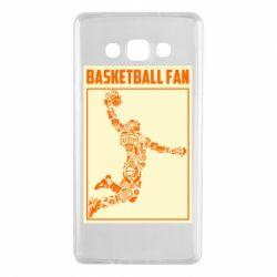 Чохол для Samsung A7 2015 Basketball fan