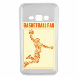 Чохол для Samsung J1 2016 Basketball fan
